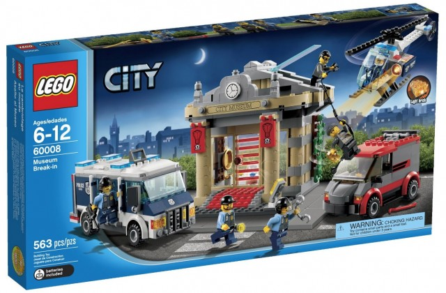 LEGO City Museum Break-In 60008 Set on Sale