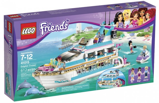 LEGO Friends Dolphin Cruiser 41015 Set on Sale