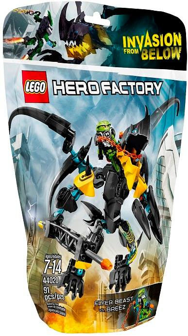 LEGO Hero Factory 2014 FLYER Beast vs. BREEZ 44020 Packaged
