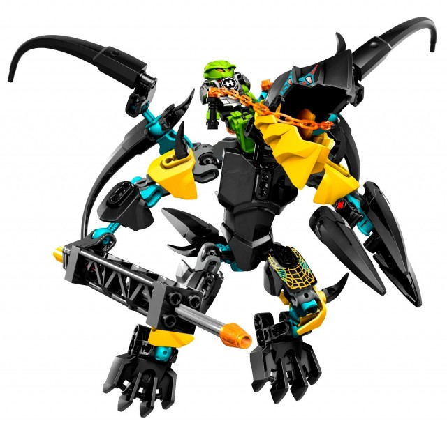 LEGO Hero Factory FLYER Beast vs. BREEZ 44020 Winter 2014 Set