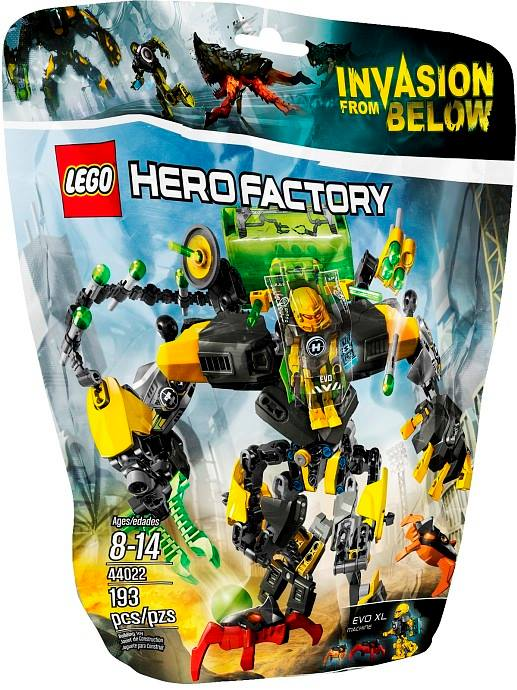 LEGO Hero Factory Invasion from Below EVO XL Machine 44022