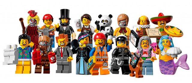 LEGO Minifigures Series 12 71003 Figures Lineup Winter 2014