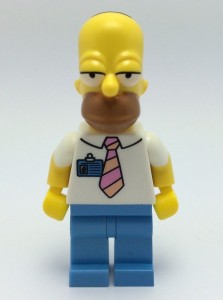 LEGO Simpsons Homer Simpson Minifigure 2014
