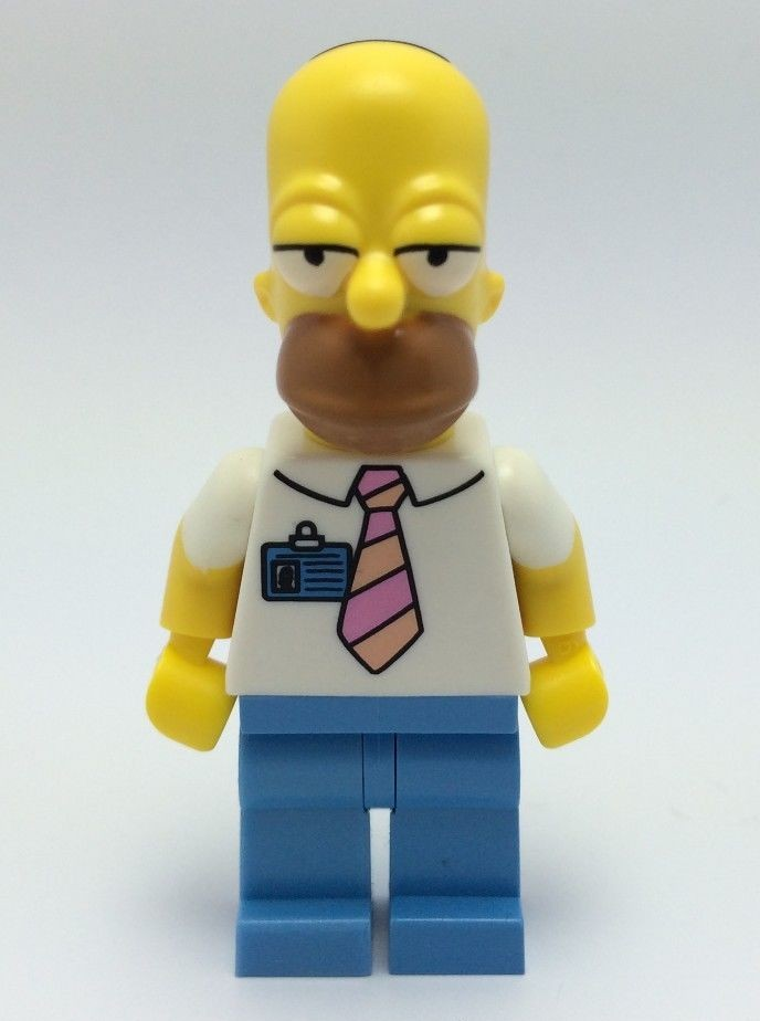2014 Lego Simpsons Homer Simpson Minifigure Revealed