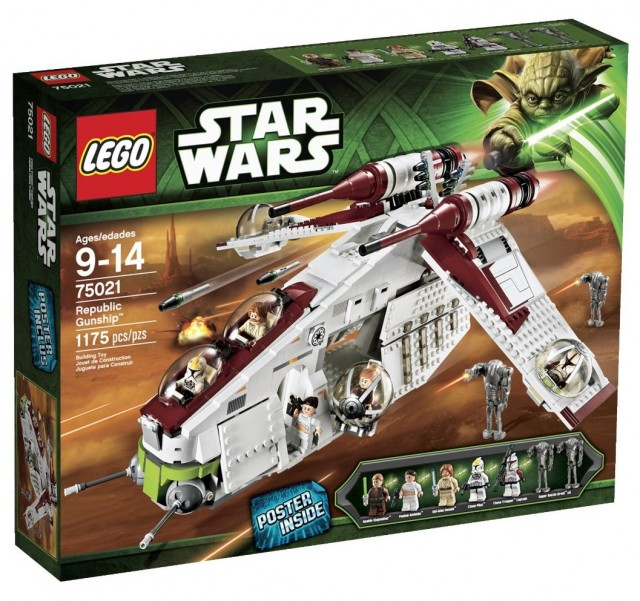 LEGO Star Wars Republic Gunship 75021 On Sale