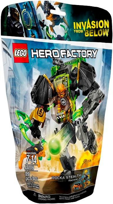 LEGO Winter 2014 Hero Factory Rocka Stealth Machine 44019 Bag