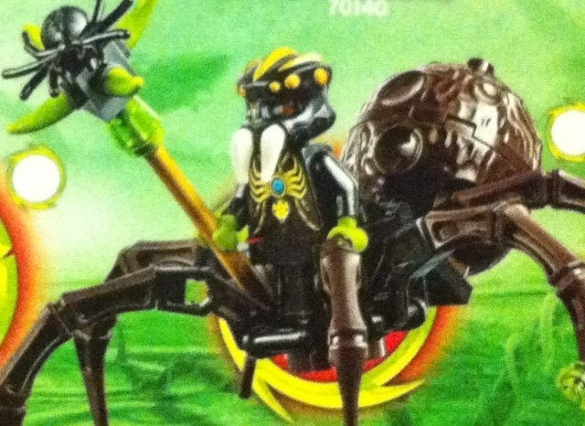 LEGO Chima Spinlyn Minifigure Spider Tribe Queen