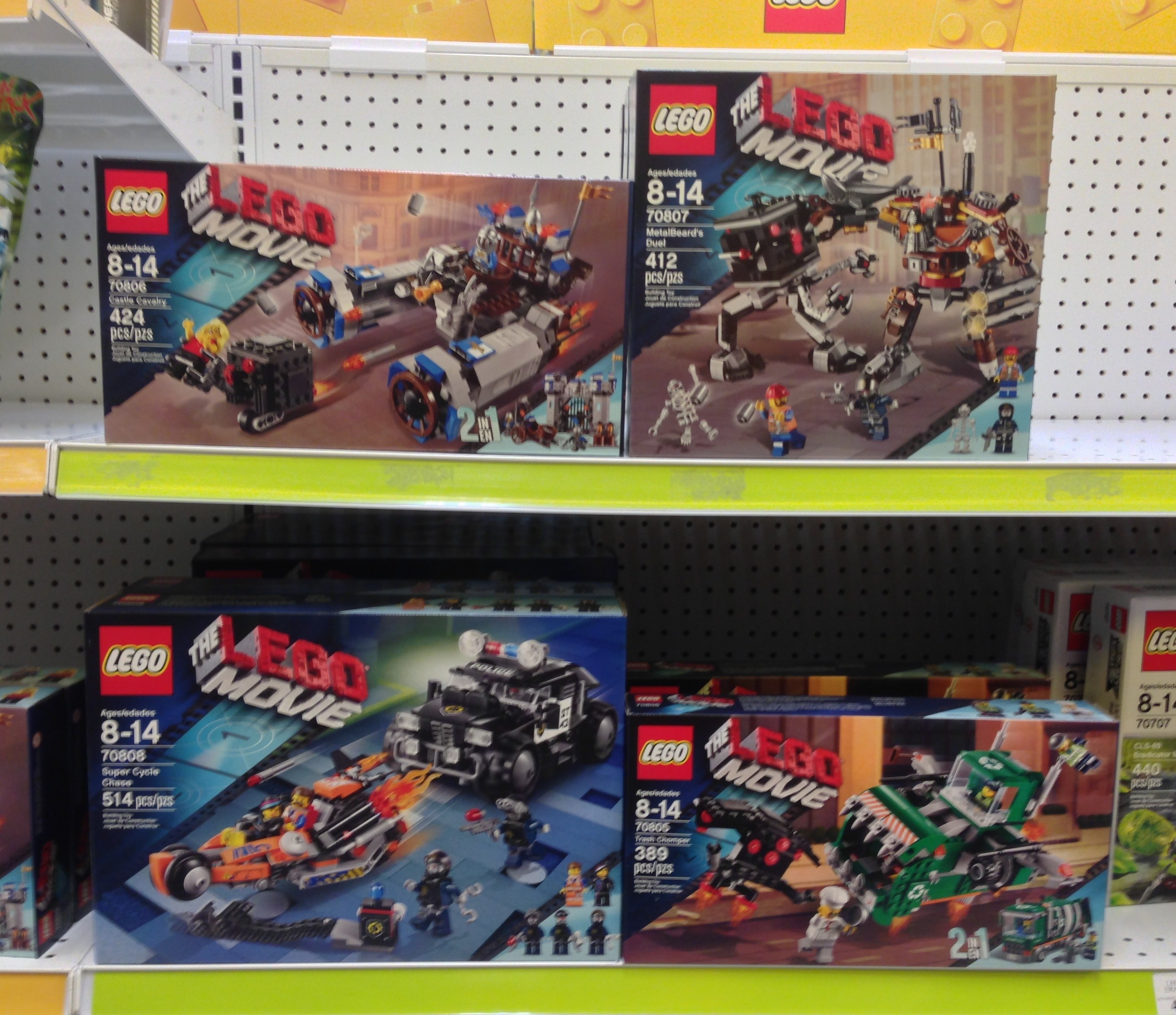 The Lego Movie Sets Released In Stores Online W Photos Bricks And Bloks