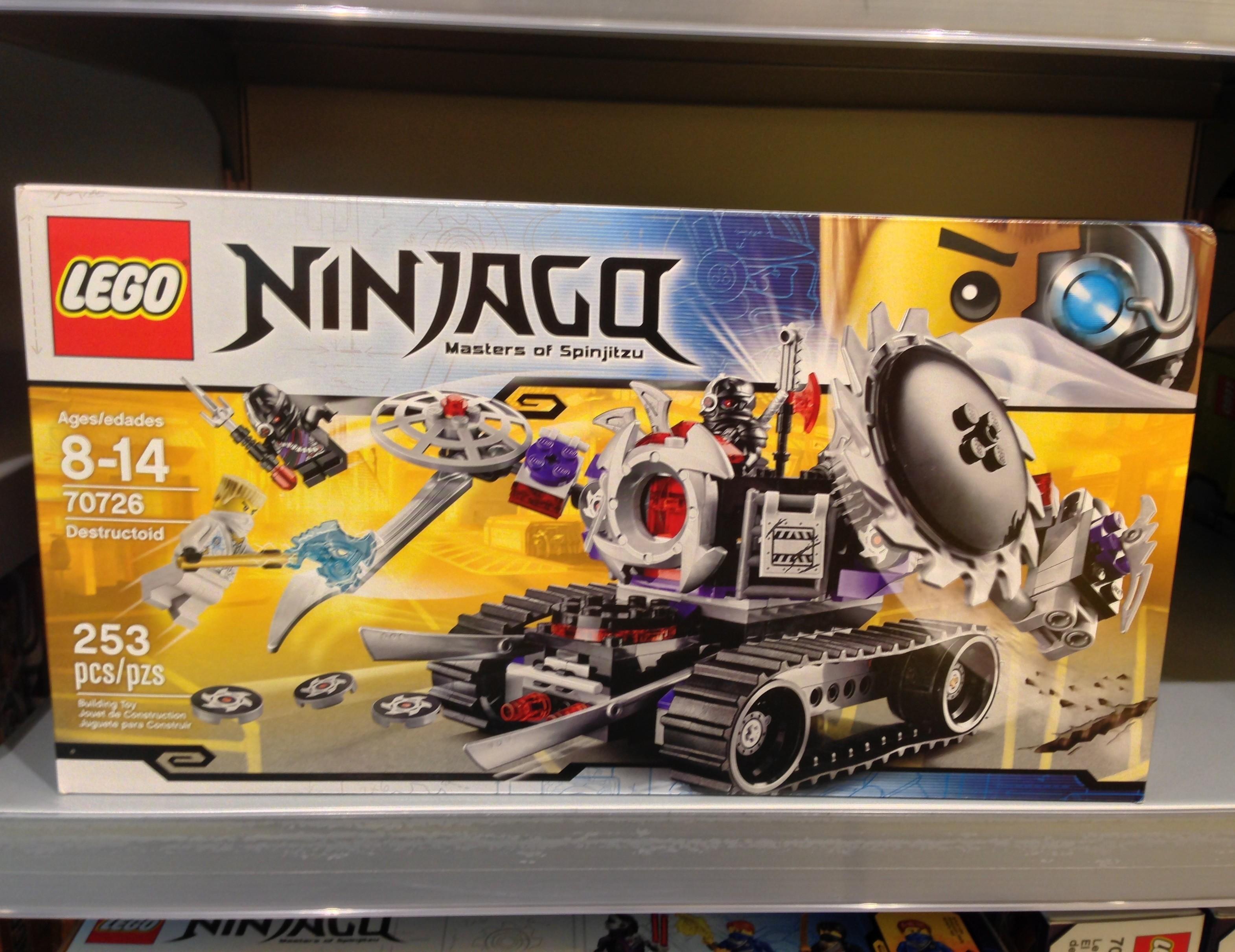2014 LEGO 70726 Destructoid Ninjago Set Released in Stores ...