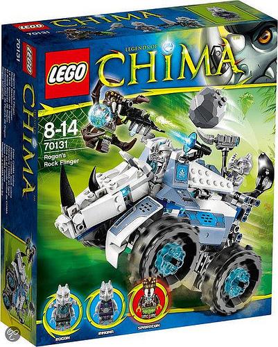 LEGO Chima 2014 Rogon's Rock Flinger 70131 Set Photos & Preview