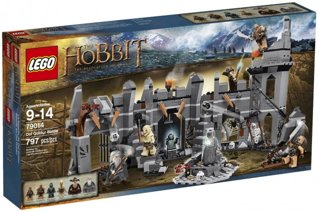 2014 LEGO The Hobbit Dol Guldur Battle 79014 Set on Sale