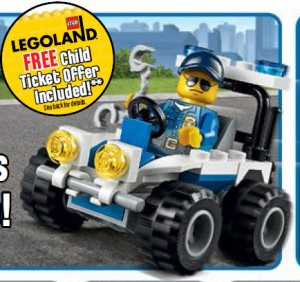 30228 LEGO Police ATV LEGO City Free Polybag Promo Set January 2014 LEGO Stores