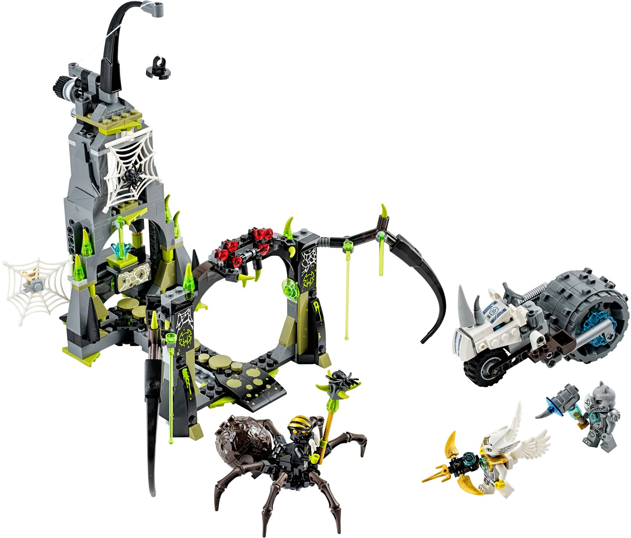 LEGO Chima Spinlyn's Cavern 70133 2014 Set Revealed ...