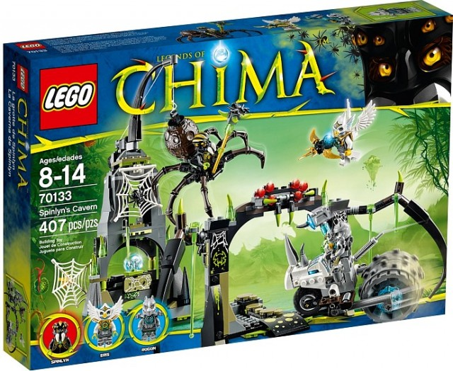 LEGO Chima 2014 Sets Spinlyn's Cavern 70133 Set