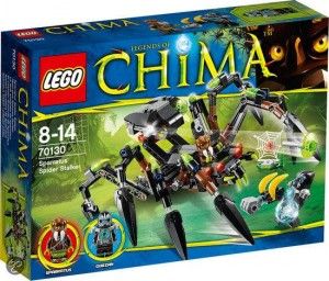 LEGO Chima 2014 Sparratus Spider Stalker 70130 Box