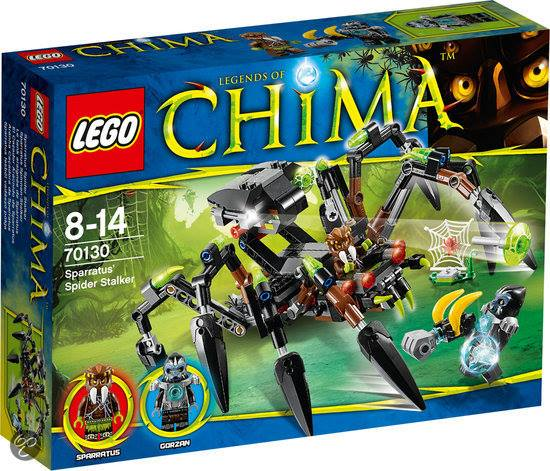 LEGO Chima 2014 Sparratus Spider Stalker 70130 Set Photos Preview