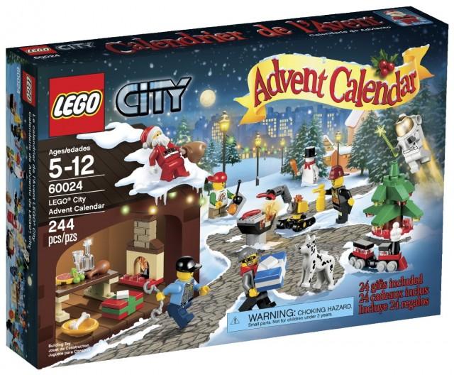 LEGO City 2013 Advent Calendar 60024 Set Box