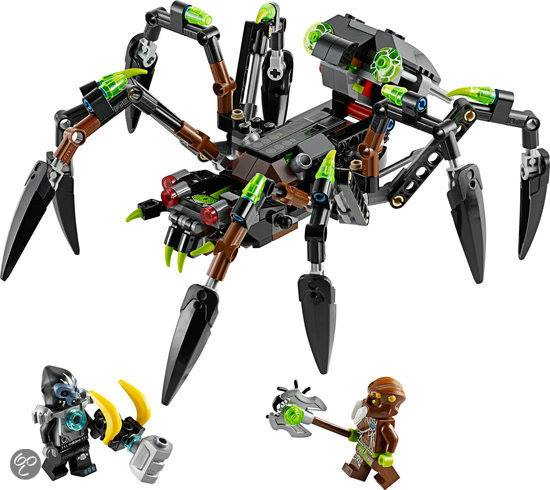 LEGO Chima 2014 Sparratus Spider Stalker 70130 Set Photos ...