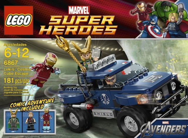 LEGO Loki's Cosmic Cube Escape Set on Sale