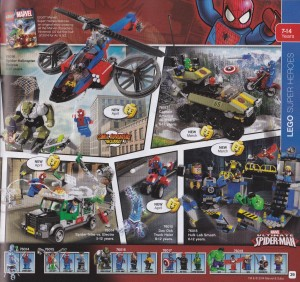 LEGO Marvel 2014 Sets Photos LEGO Superheroes