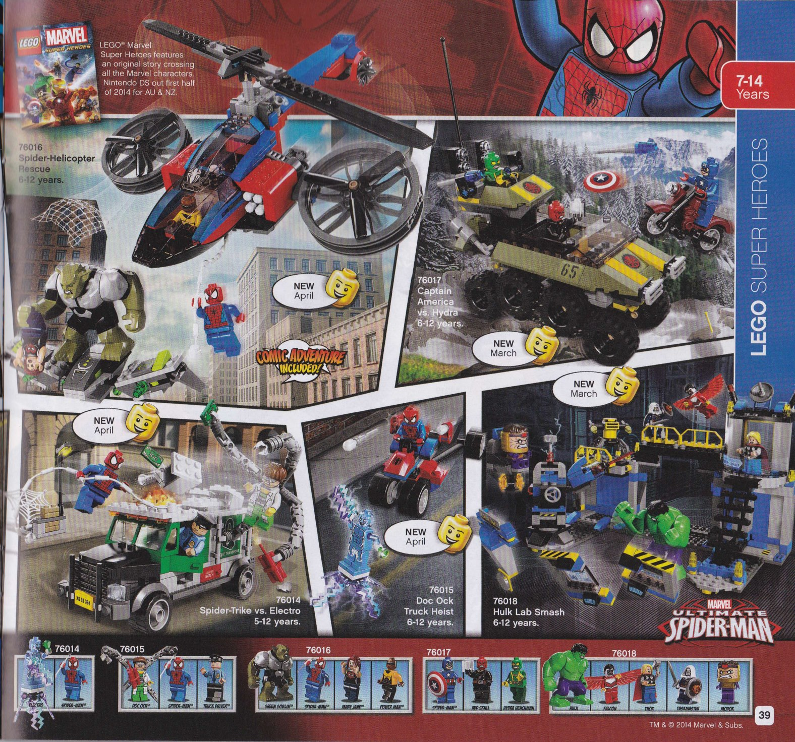 LEGO Marvel 2014 Sets List & Photos - 722.1KB