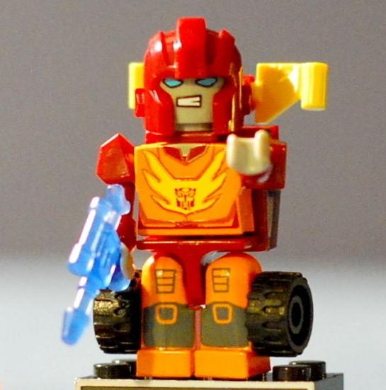 Rhinox Transformers Kre-o micro-changeurs Série 4 40 Kreon New beast wars