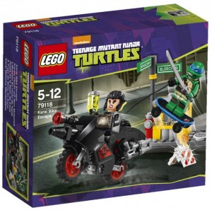 LEGO 2014 Teenage Mutant Ninja Turtles Karai Bike Escape 79118