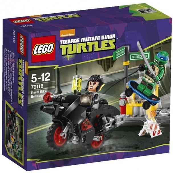 Lego Tmnt 2014 Karai Bike Escape 79118 Revealed Photos Bricks