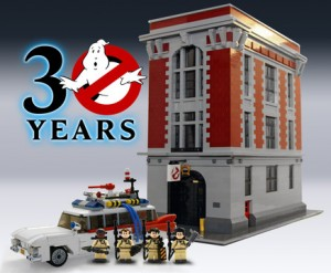 LEGO Ghostbusters 30th Anniversary Set Announced