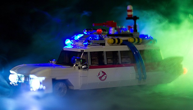 lego ghostbusters minifigures ecto 1 car set announced. Black Bedroom Furniture Sets. Home Design Ideas
