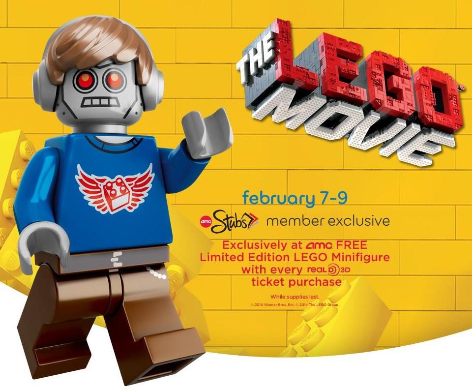 The Lego Movie Minifigures Promos At Regal Amc Theaters Bricks And Bloks