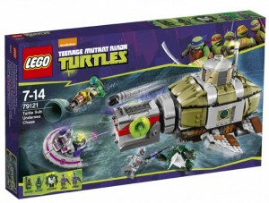 LEGO TMNT 2014 Turtle Sub Undersea Chase Set Box