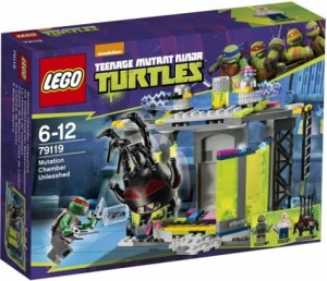 LEGO TMNT Mutation Chamber Unleashed 79119 Box