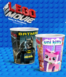 McDonalds Happy Meal The LEGO Movie Toys Action Cups Batman and Unikitty