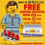 The LEGO Movie Minifigures Promos at Regal & AMC Theaters!