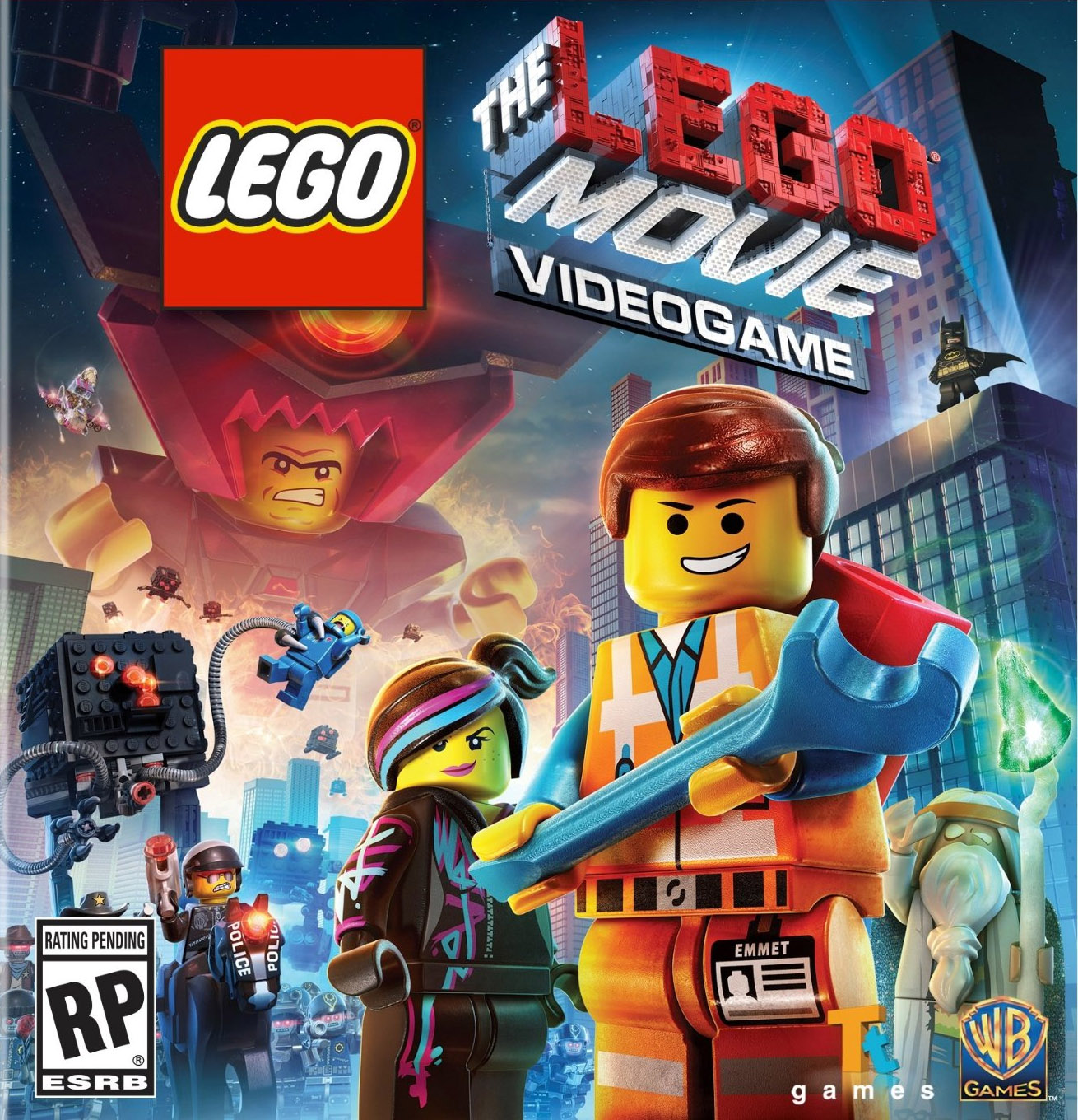 The LEGO Movie Western Emmet Minifigure Exclusive with ...
