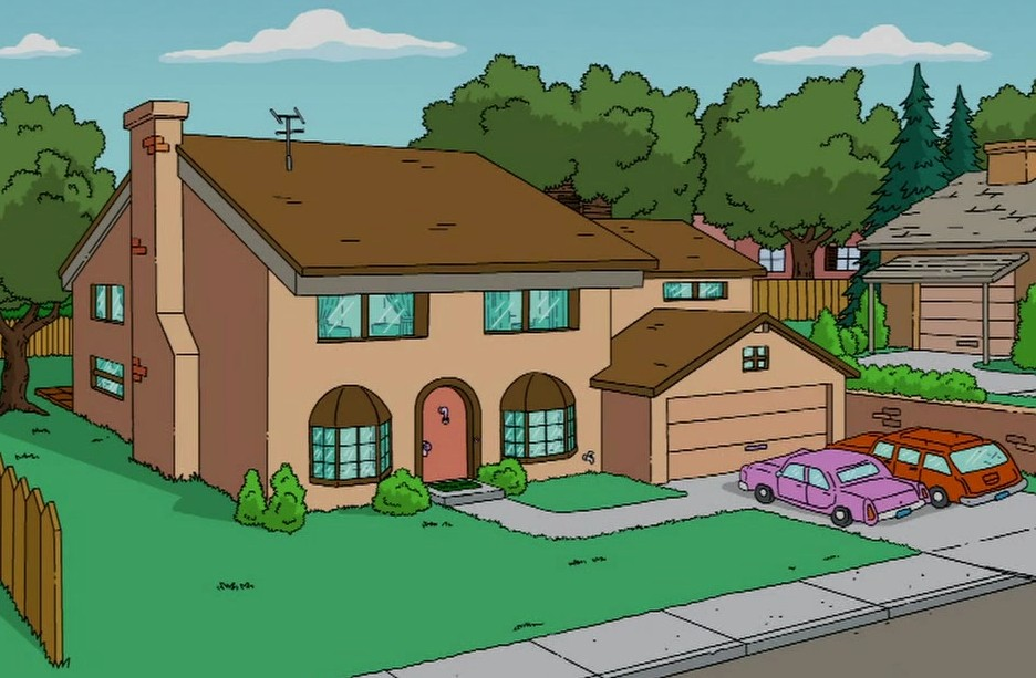 Lego the simpsons house 71006 photos minifigures for 742 evergreen terrace floor plan