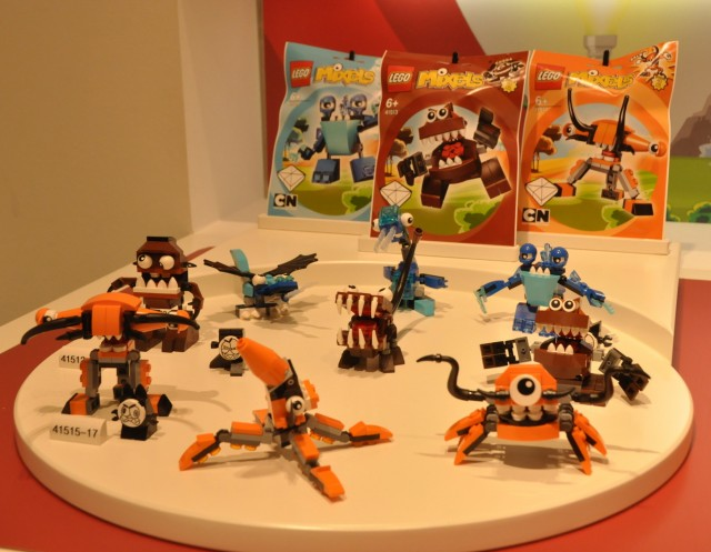 LEGO Mixels Series 2 Sets Orange Blue Brown LEGO 2014
