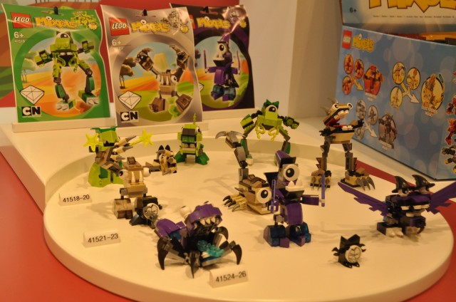 LEGO Mixels Series 3 Sets Brown Green Purple LEGO 2014