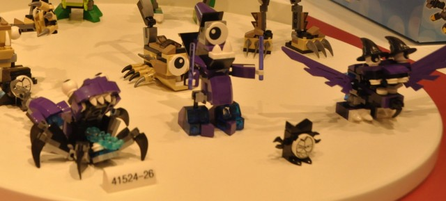 LEGO Mixels Series 3 Sets Purple 41524 41525 41526