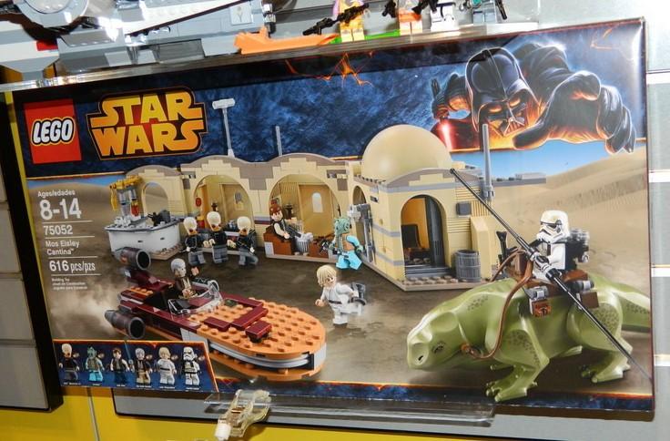 STAR WARS LEGO MINI FIGURE AUTHENTIC OBI WAN KENOBI 75052 MOS EISLEY CANTINA SET