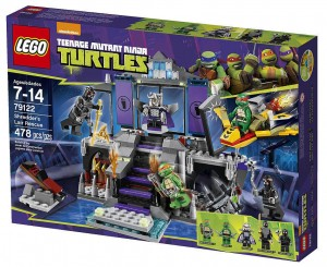 79122 LEGO Shredder's Lair Rescue Set Exclusive Summer 2014