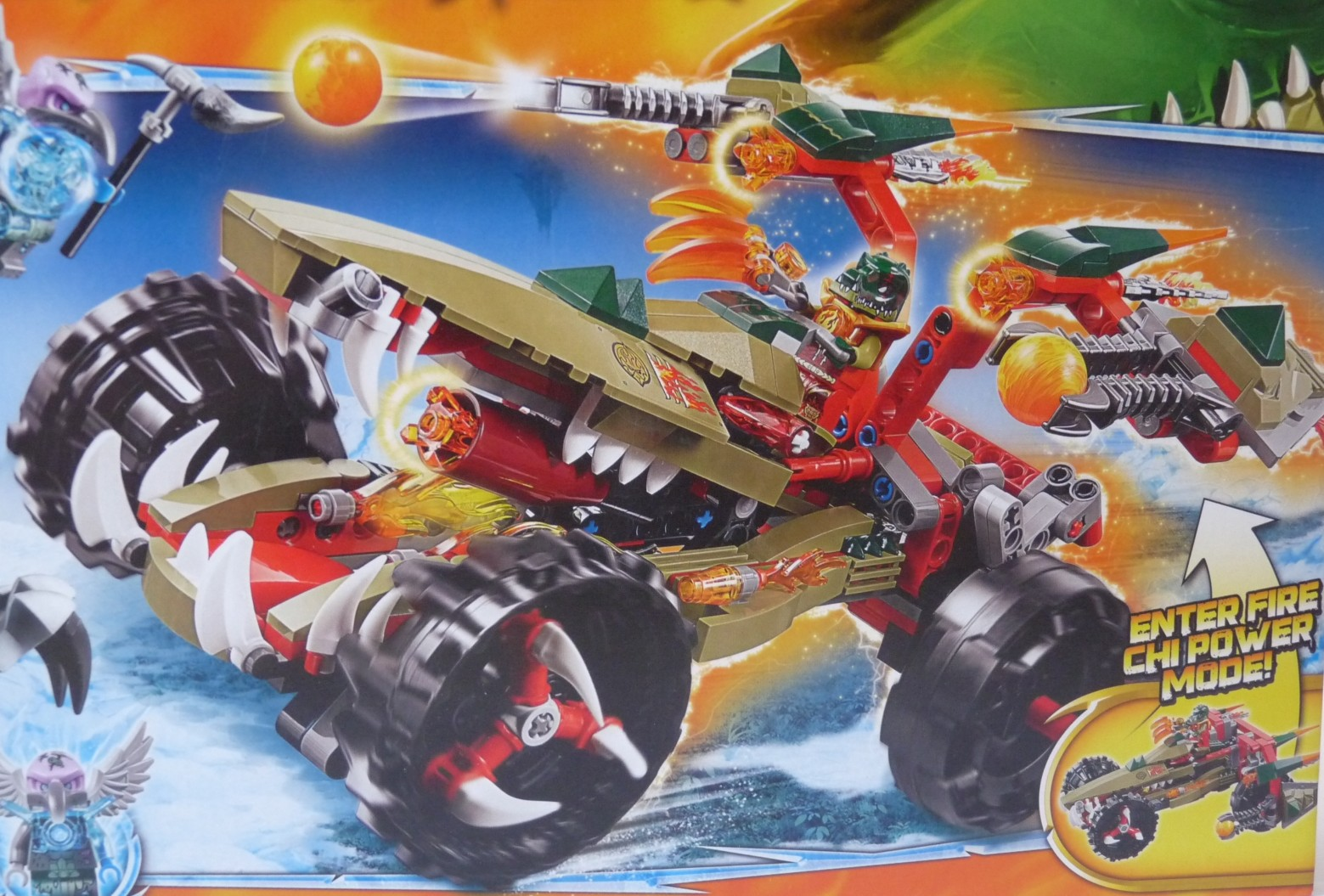 What do you think of this LEGO 2014 summer exclusive Chima set, LEGO