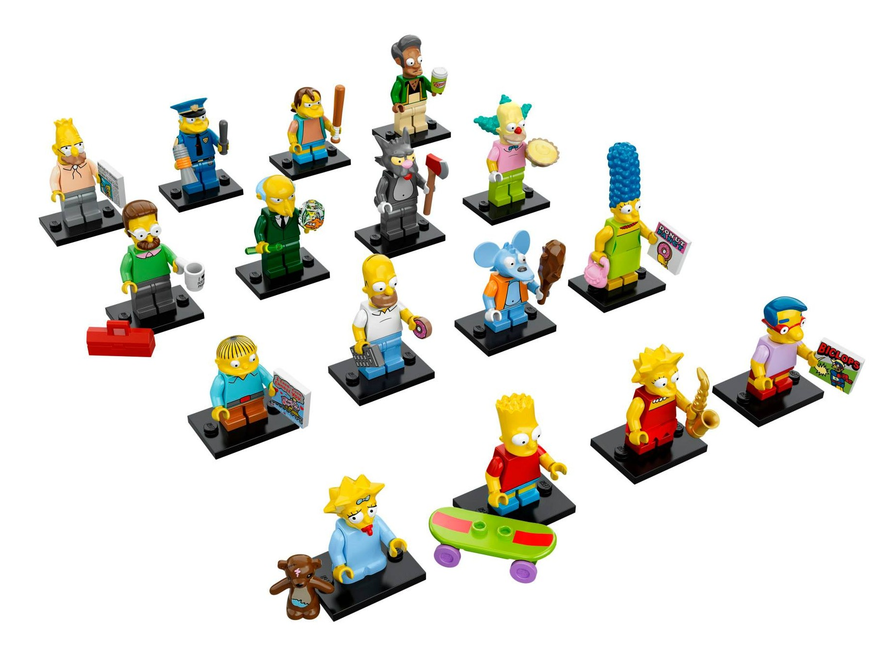 Lego Simpsons Minifigures Series Photos Fully Revealed
