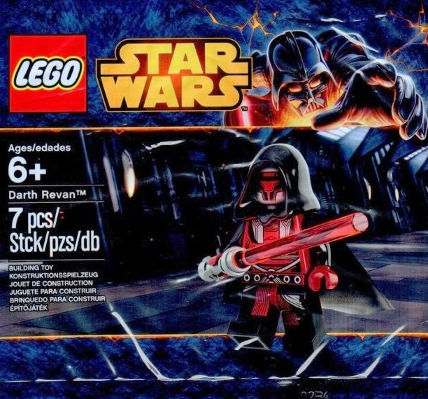Lego star wars darth revan minifigure revealed photo bricks and lego star wars darth revan minifigure polybag figure fandeluxe Gallery
