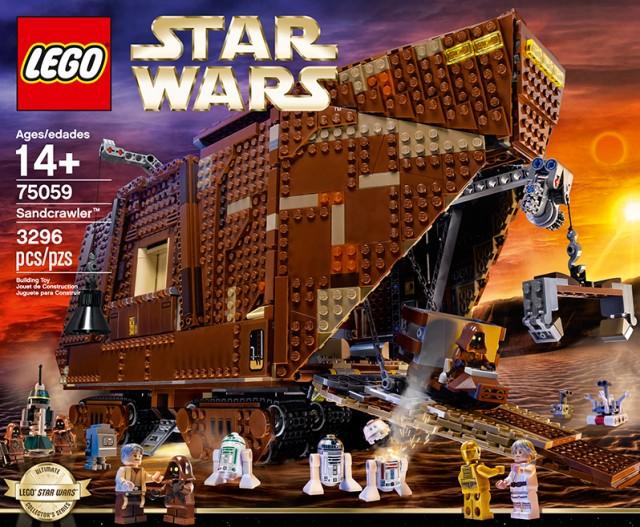LEGO Star Wars Jawa Sandcrawler 75059 Box