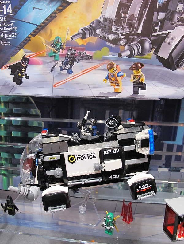 Toy Fair 2014 LEGO 70815 Super Secret Police Dropship Set