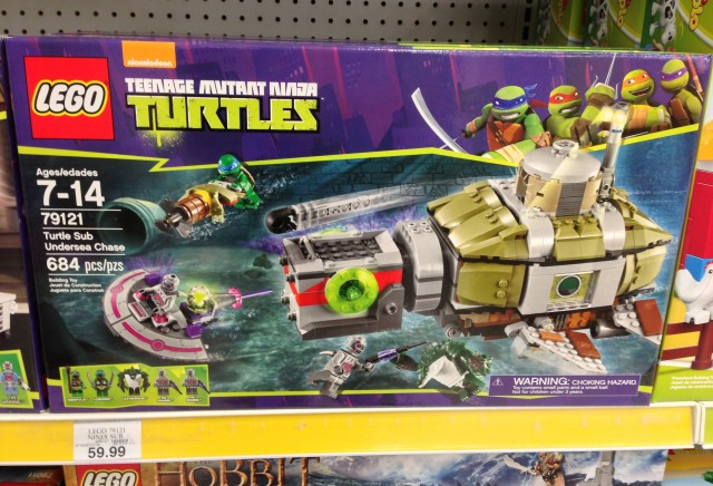 Tmnt Turtles 2014 Toy At Kmart Sub : Lego tmnt sets released in stores photos bricks