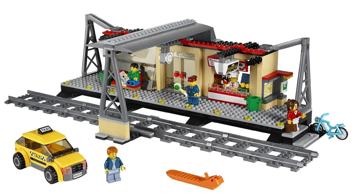 pics for lego city train station. Black Bedroom Furniture Sets. Home Design Ideas