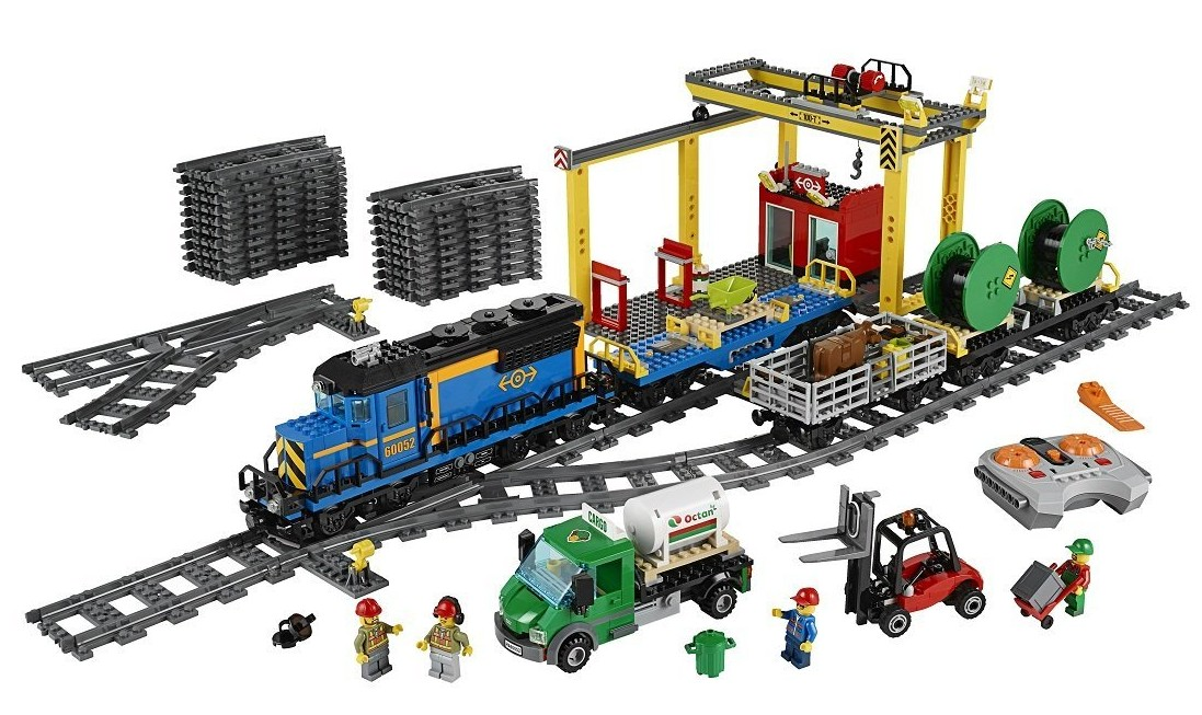 walmart remote control toys with Lego City Cargo Train 60052 Summer 2014 Set Photos Preview on Monster Truck Toys together with Helpful Tips On Down To Earth Solutions In Toy Cars Kids also 54987399 together with Jurassic World Toys Pre Orders New Products Live 296704 as well Electric Train Set.
